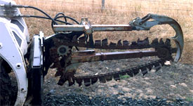 Chain Trencher (Bobcat extension)